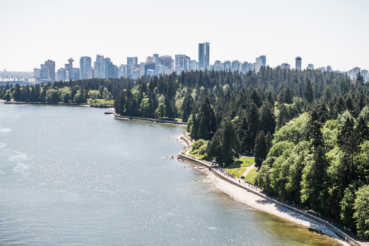 Stunning Running. It's no wonder the BMO Vancouver Marathon is ranked one of the top destination marathons in the world by the likes of Forbes, CNN, USA Today, and so many more. Photo: Maylie Lang / RUNVAN®