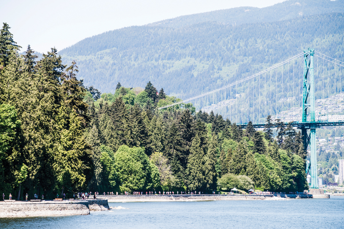 Park scenes. All six BMO Vancouver Marathon races get a little taste of Vancouver's world-famous Stanley Park: https://bmovanmarathon.ca/neighbourhoods Photo: Maylie Lang / RUNVAN®