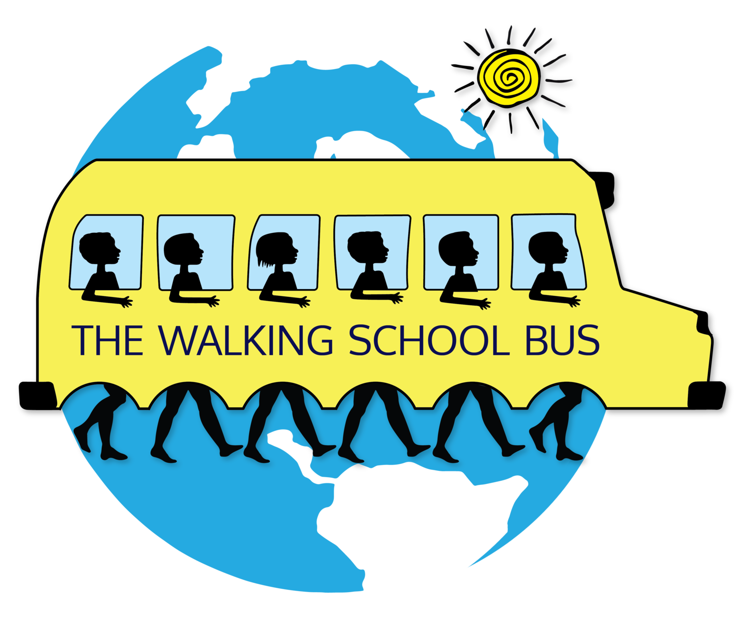 Walking School Bus logo
