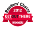 Voted 2012 Best Marathon on the West Coast by Get Out There Readers' Choice Awards