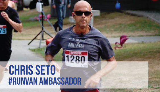 RUNVAN Ambassador Chris Seto