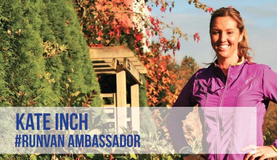 RUNVAN Ambassador Kate Inch
