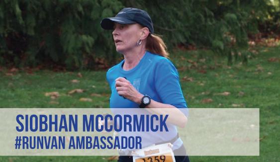 RUNVAN Ambassador Siobhan McCormick