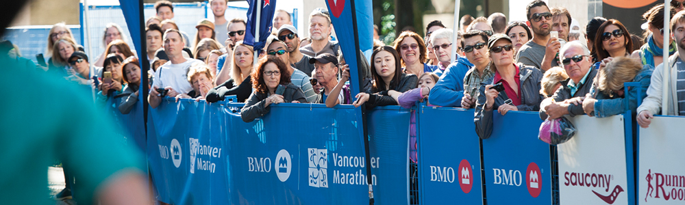 BMOVM.M.Images-1000x300-50-2016-FinishLineCrowds-200-RichardLam.VancouverMarathon BMO Vancouver Marathon Half Marathon Best Top Scenic Award-winning Race
