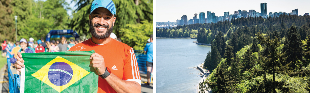 BMO Vancouver Marathon / Top International Destination Race / Brazilian runners