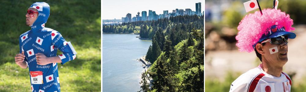 BMO Vancouver Marathon / Japanese runners