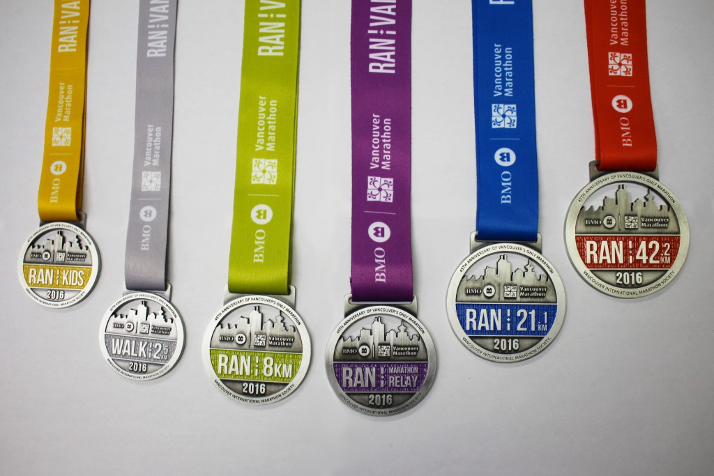 Medals Revealed At Ctv Morning Live Bmo Vancouver Marathon