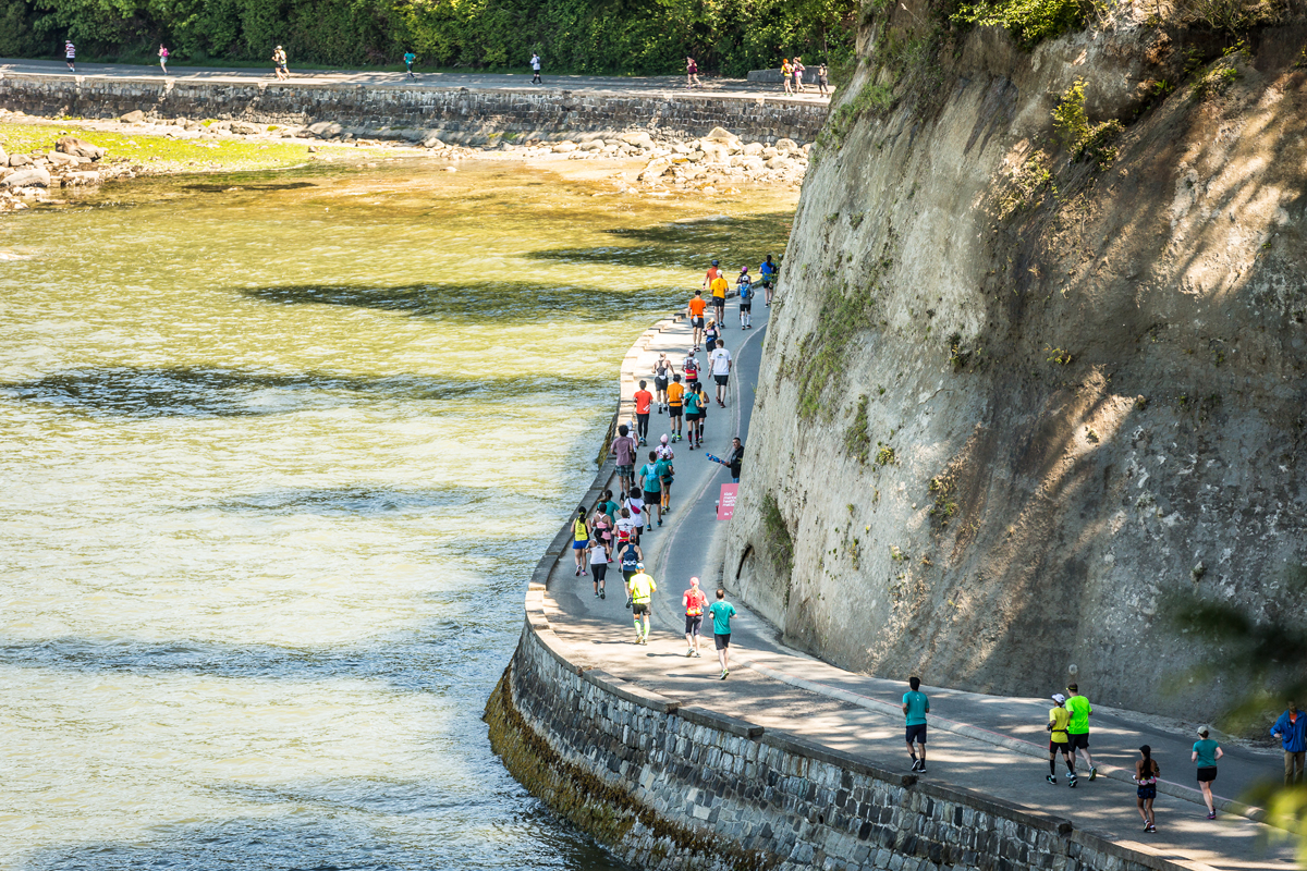 Seawall bliss. The world's longest uninterrupted waterfront path, Vancouver's Seawall is beautiful. Photo: Stirl and Rae Photography / RUNVAN®