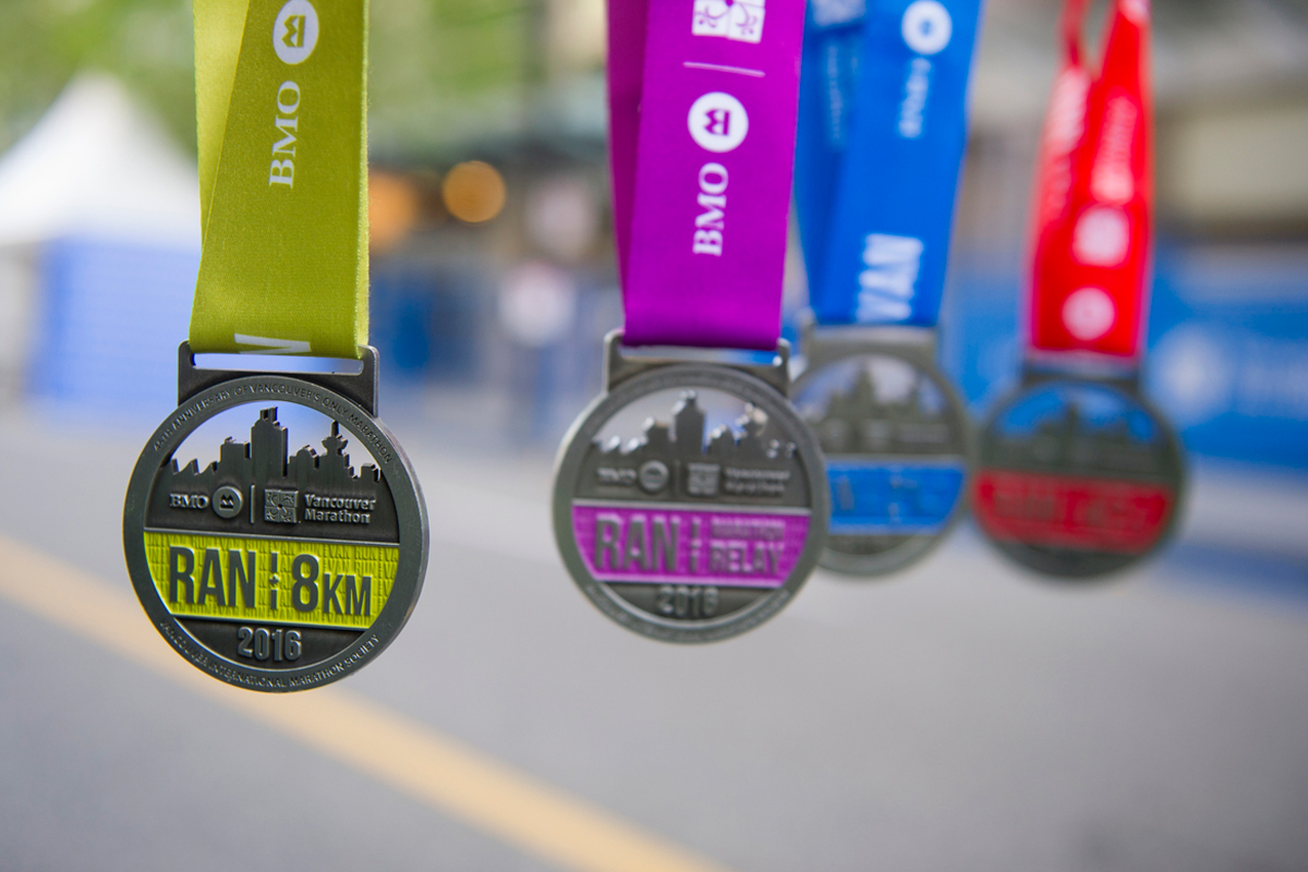 Congrats! Congrats to all finishers on your personal achievements: http://bmovanmarathon.ca/ Photo: Richard Lam / RUNVAN®