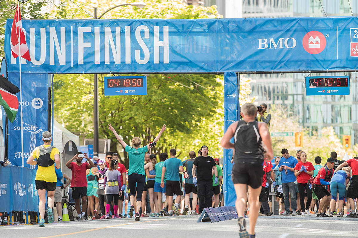 Finish Strong: https://bmovanmarathon.ca/results-bmo-vancouver-marathon RUNVAN®