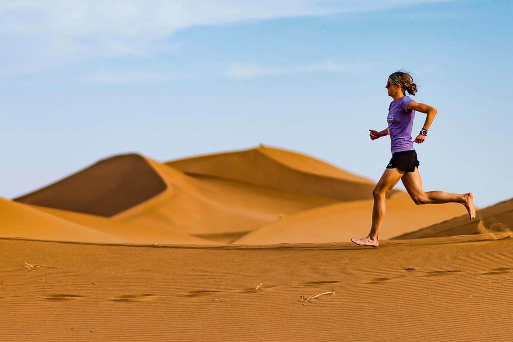 Morocco Sahara running