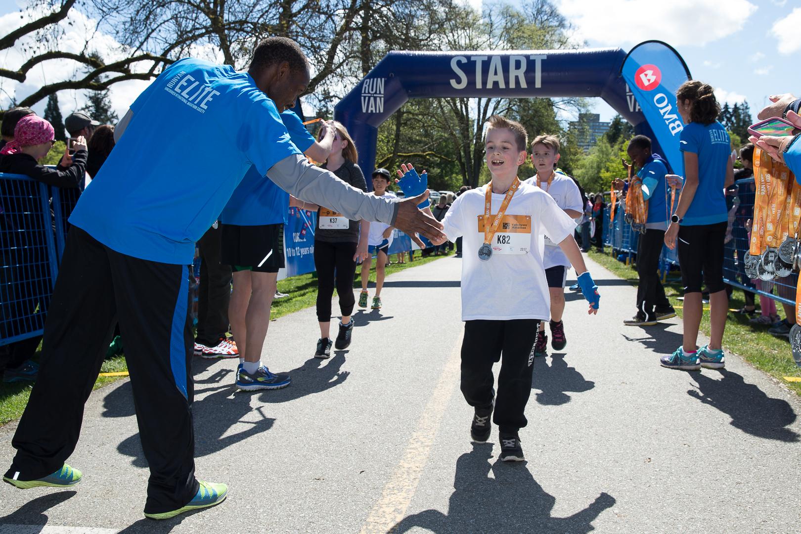 BMO Vancouver Marathon Kids Run