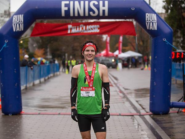 Anthony Tomsich - BMO Vancouver Marathon