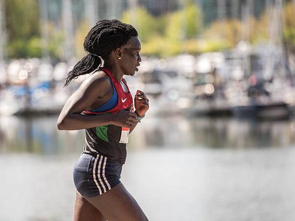 Gladys Tarus - BMO Vancouver Marathon