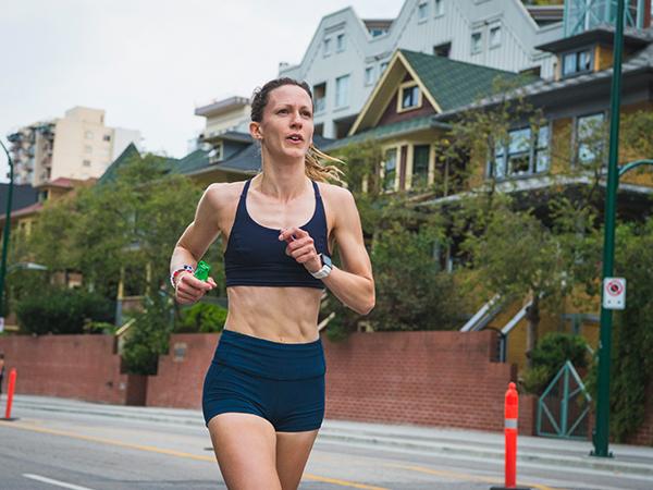 Kate Gustafson - BMO Vancouver Marathon