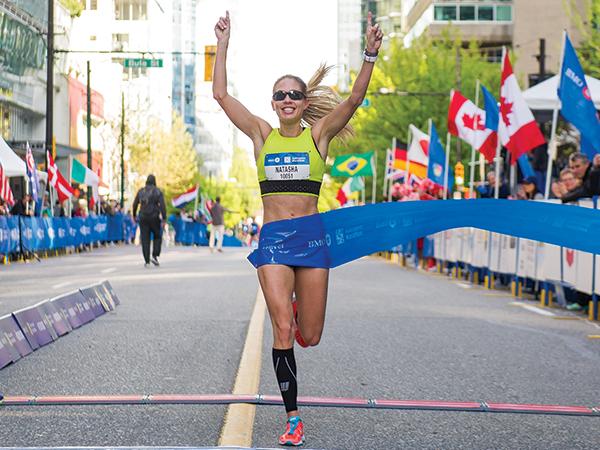 Natasha Wodak - BMO Vancouver Marathon