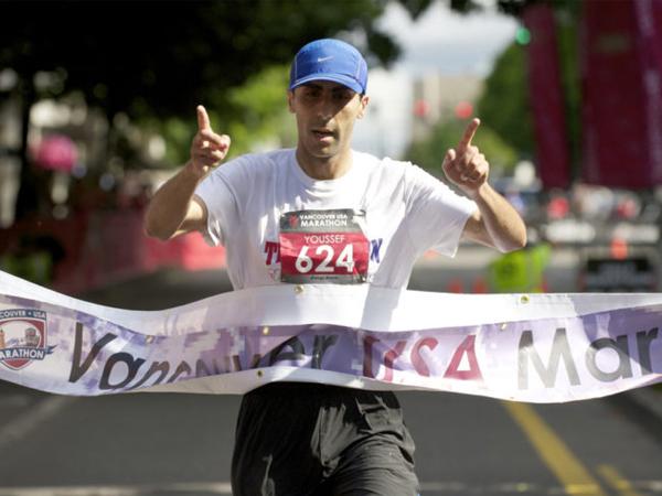 Youssef Zirari - BMO Vancouver Marathon