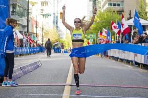 BMO Vancouver Marathon - Natasha Wodak