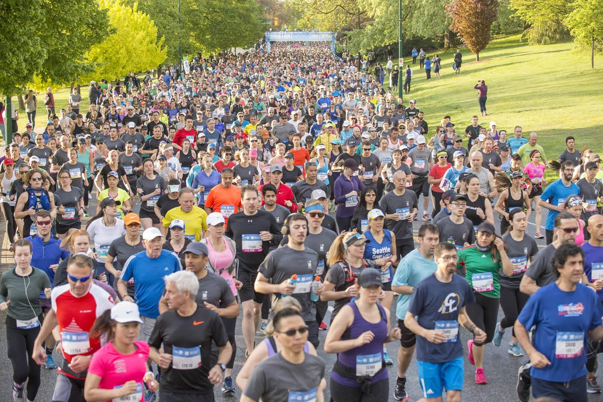 The 2018 BMO Vancouver Marathon.