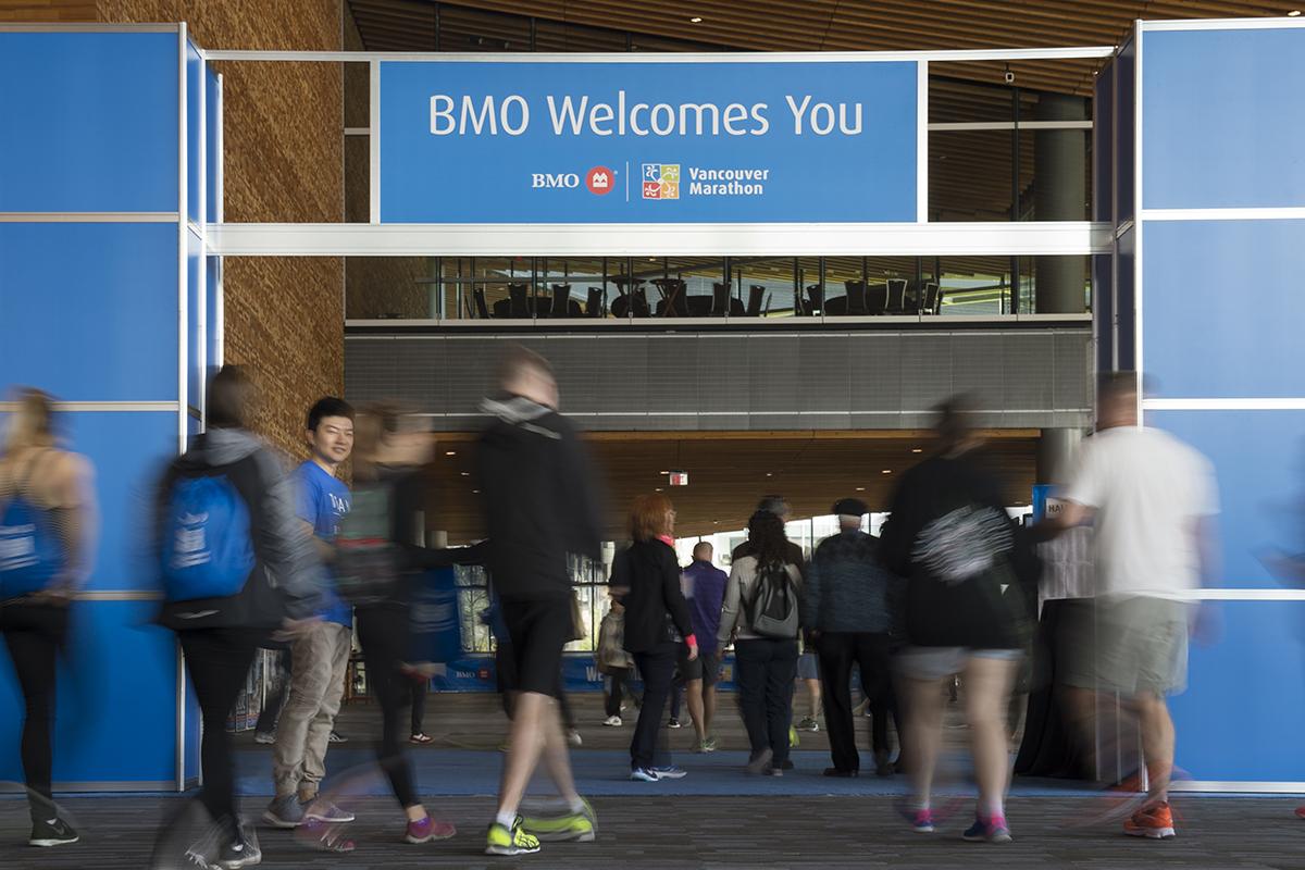 BMO Vancouver Marathon Expo