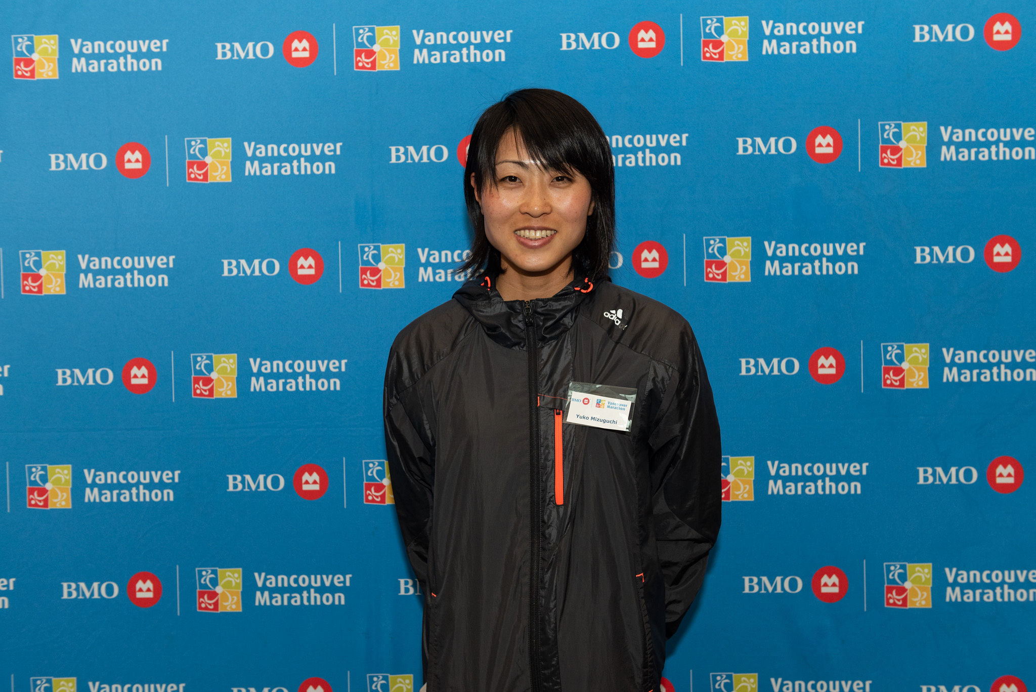 Yuko Mizuguchi at the VIP Media Reception. Photo: Clarence Chan / RUNVAN®