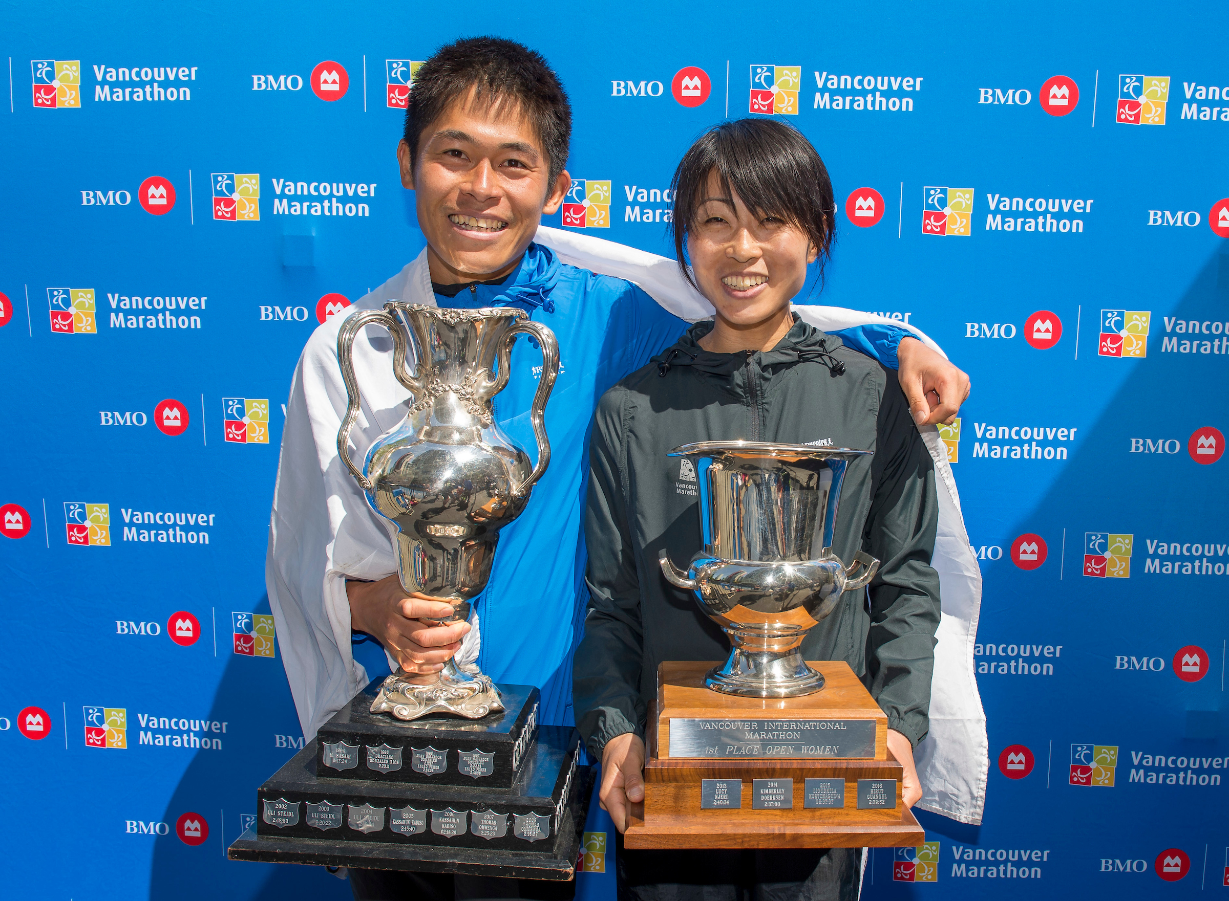 Yuki and Yuko. Photo: Christopher Morris / RUNVAN®