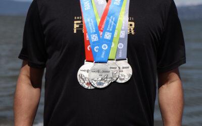 BMO Vancouver Marathon 2021 Medals and Merchandise